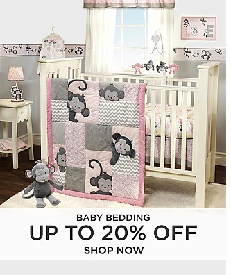 Up to 20% Off Baby Bedding