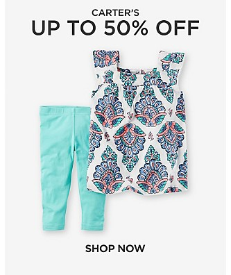Up to 50% Off Carter's