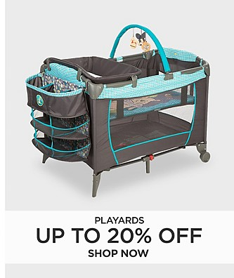 Up to 20% Off Play Yards