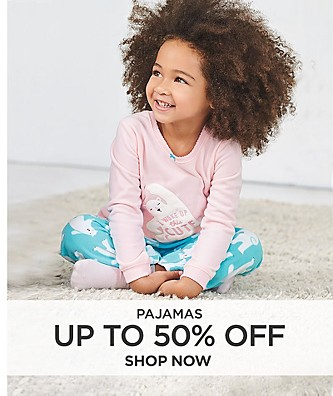 Pajamas up to 50% off