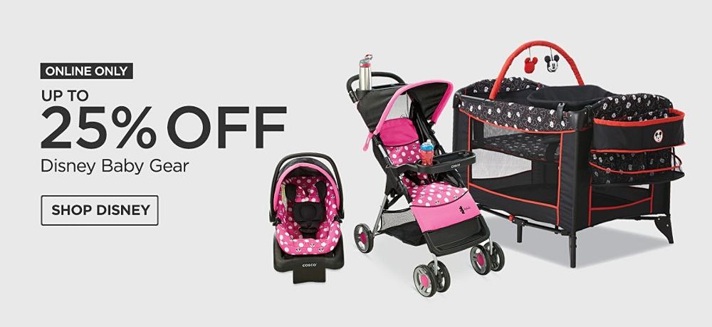 Up to 25% Off Disney Baby Gear. Shop Disney.
