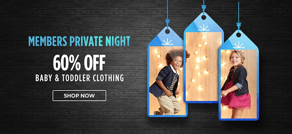 60% Off Baby & Toddler Clothing. Shop now