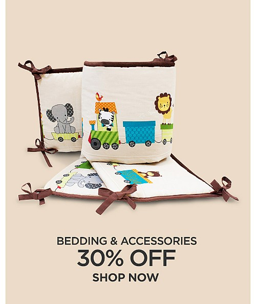 30% off bedding & accessories. Shop now