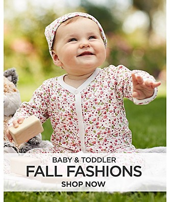 Baby and Toddler Fall Fashions