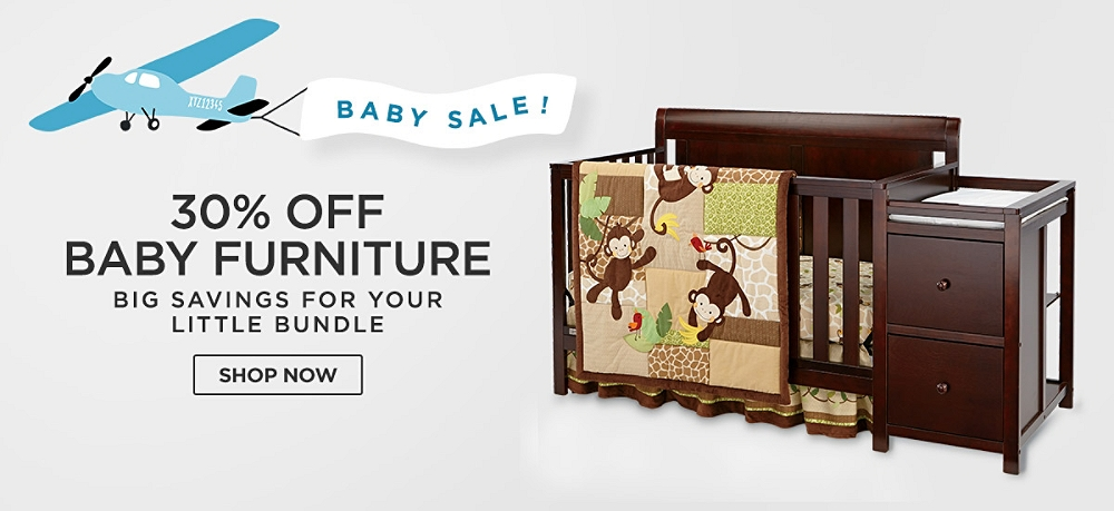 Baby Sale! Up to 30% off Baby Furniture