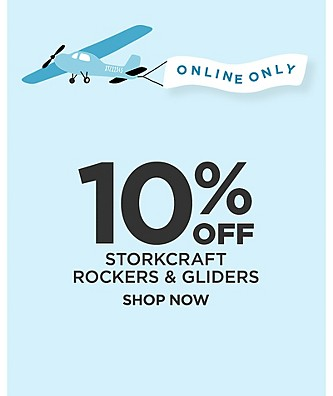 ONLINE ONLY 10% Off StorkCraft Rockers & Gliders. Shop Now.