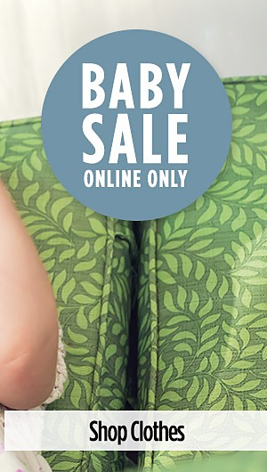 Online Only Baby Sale! Up to 25% off All Things Baby! Shop Clothes