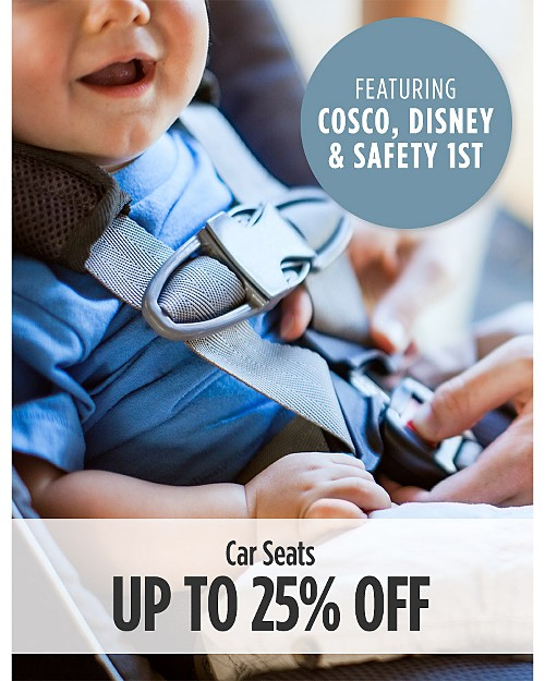 Up to 25% Off Car Seats (ft. Cosco, Disney, & Safety 1st)