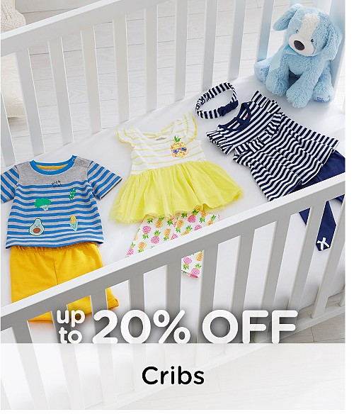 Up to 20% Off Cribs
