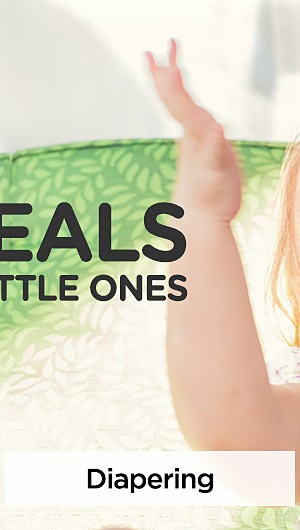 Big Deals for Your Little One! Shop Diapering