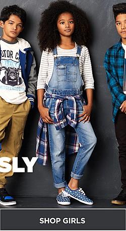 Shop Girls Back to School Fashions