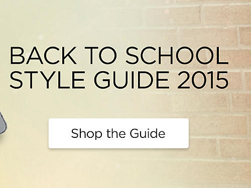 Back to School Lookbook
