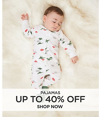 Pajamas up to 40% off