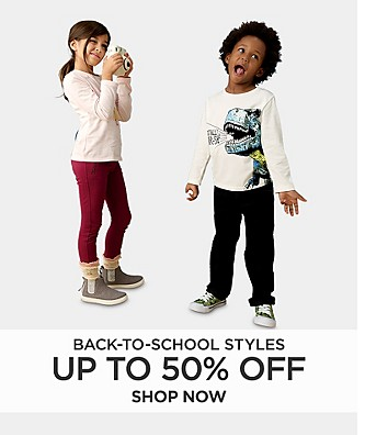 Up to 50% Off Back To School Styles