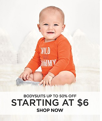 Bodysuits up to 50% off starting at $6