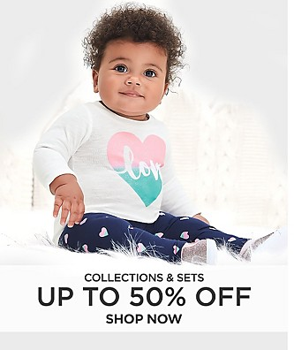 Collections & sets up to 50% off