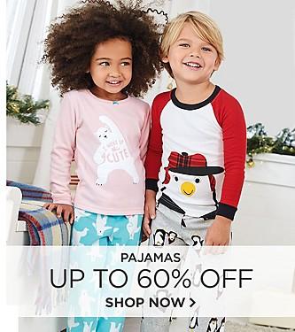 Pajamas up to 60% Off