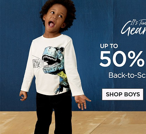Up to 50% Off Back To School Styles. Shop Boys'