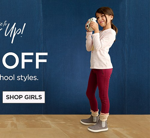 Up to 50% Off Back To School Styles. Shop Girls'