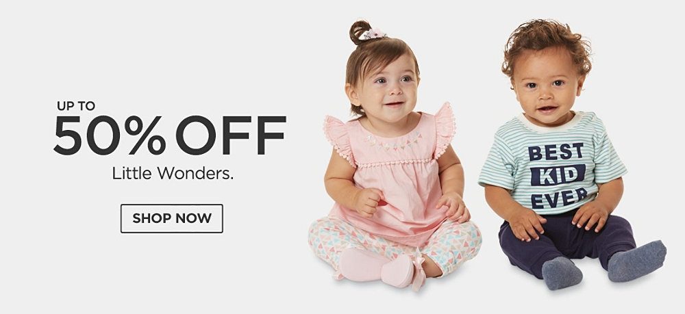 Up to 50% Off Little Wonders