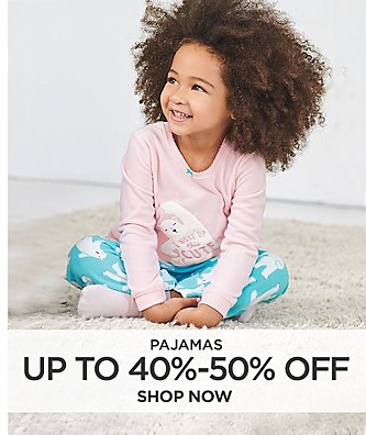 Pajamas Up to 40%-50% Off