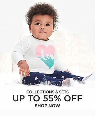 Collections & sets up to 55% off