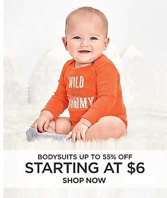 Bodysuits up to 55% off starting at $6