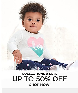 Up to 50% off Collections and Sets