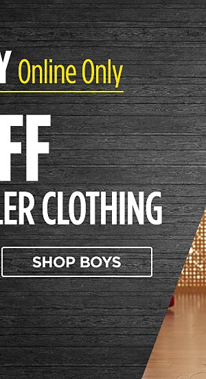 Black Friday online only! 60% off baby & toddler clothing. Shop boys