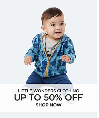 Up to 50% off Little Wonders Clothing
