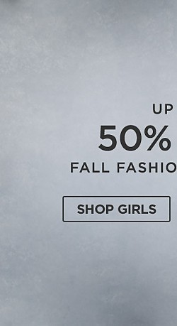 Up to 50% off Fall fashions for kids. Shop Girls