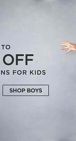 Up to 50% off Fall fashions for kids. Shop Boys