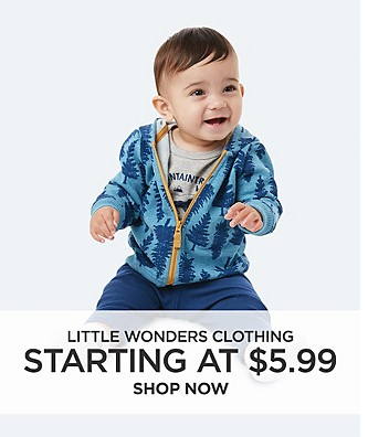 Little Wonders Clothing starting at $5.99