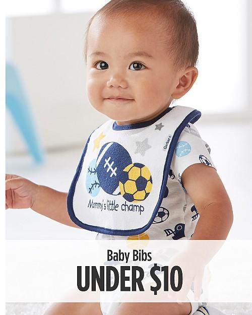 Baby Bibs Under $10