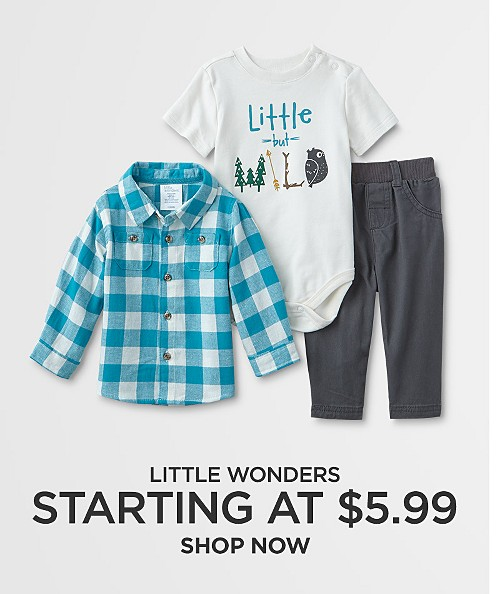 Little Wonders Starting at $5.99. Shop now