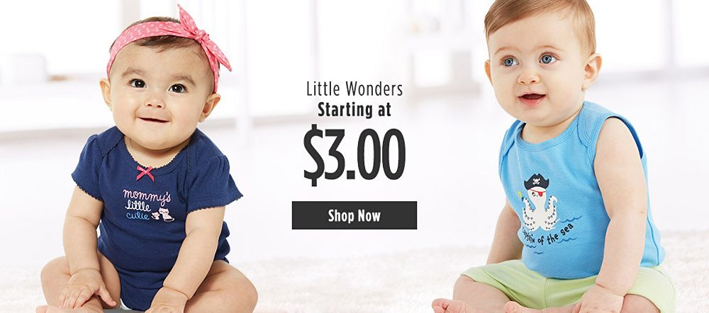 Little Wonders Starting at $3