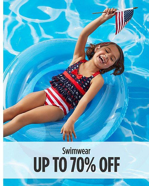 Up to 70% off swimwear