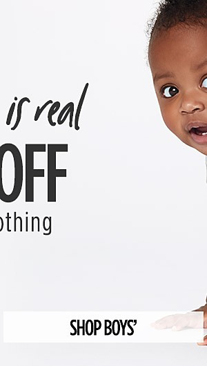 The Snuggle is Real! 40% Off Carter's Clothing. Shop Boys'