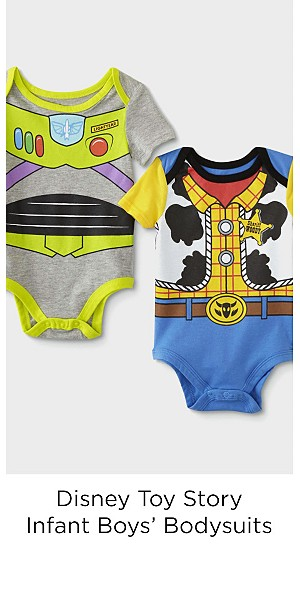 Disney Toy Story Infant Boys' 2-Pack Bodysuits - Buzz Lightyear/Woody