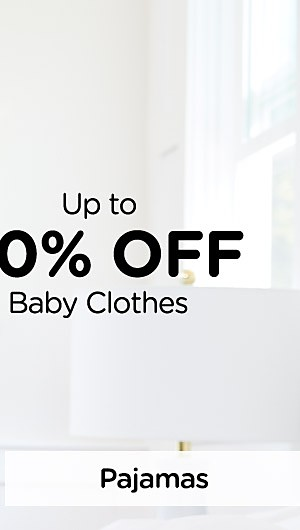 Up to 40% off Baby Clothes. Shop Pajamas