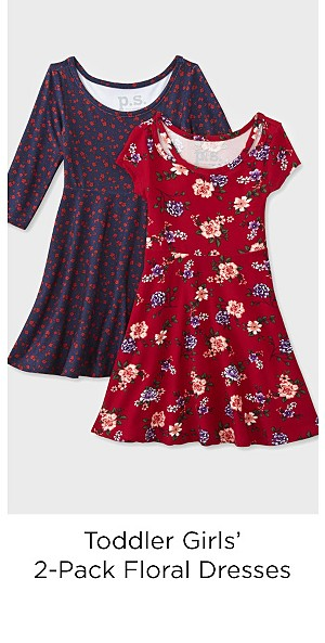 Children's Apparel Toddler Girls' 2-Pack Dresses - Floral