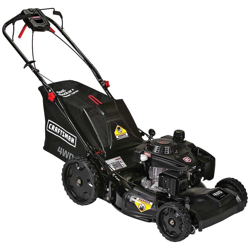 Craftsman 163cc Rear Wheel Drive 3-in-1 Lawn Mower