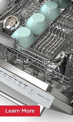 Learn More Bosch Dishwashers