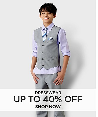Up to 40% off Dresswear