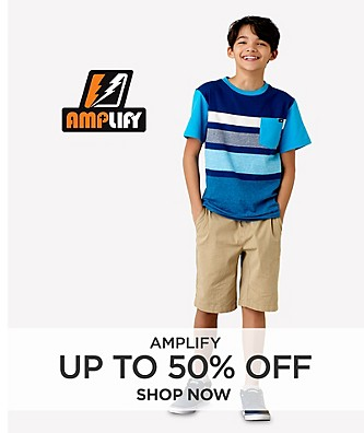 Up to 50% Off Amplify