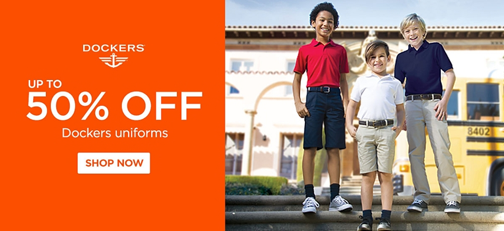 Up to 50% Off Dockers Uniforms