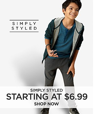 Simply Styled starting at $6.99 Shop Now