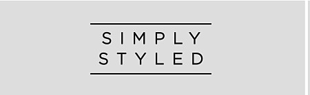 Simply Styled Boys' Clothes