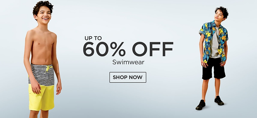 Up to 60% Off Swimwear. Shop Now.