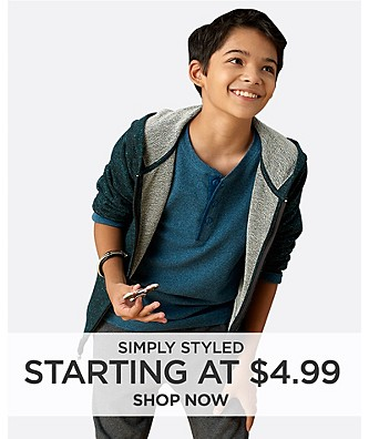 Simply Styled starting at $4.99